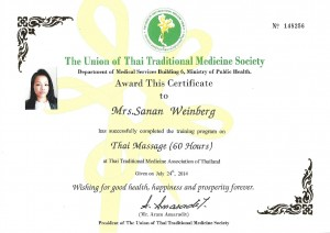 Union of TTM Society - Thaimassage